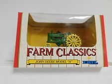 "Ertl 1/43 Die-Cast Farm Classics John Deere Model ""A"" Tractor New In The Box Toy"