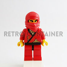 LEGO Minifigures - 1x cas050 - Red Ninja - Castle Omino Minifig Set 3053