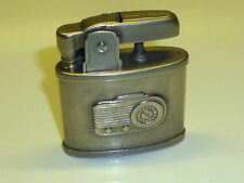 VINTAGE POCKET TEAL WICK AUTOMATIC LIGHTER - POCKET LIGHTER - PETROL