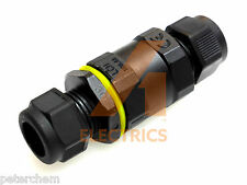 Waterproof cable connector joint pond pump garden light outdoor tools IP68