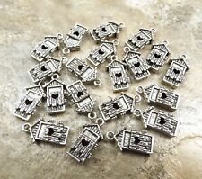 20 Pewter OUTHOUSE Charms - 1703