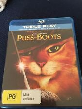 puss in boots bluray disc only doesnt include DVD nor digital copy