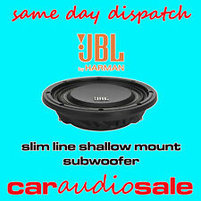 "JBL MS 10SD4 10"" INCH 1000 WATT DVC SLIM LINE SHALLOW MOUNT CAR SUBWOOFER"