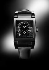 NEW UNO DF N29/C Ltd Edtn Forever Black Sporty Rubber Strap Retails $13,800