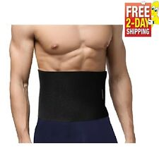Waist Trimmer Belt Weight Loss Wrap Stomach Fat Burner Abdominal Trainer Support