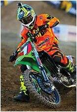MOTOCROSS POSTER RYAN VILLOPOTO KXF450 #1 dirt bike monster energy thor mx ama