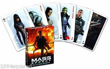Mass Effect Playing Cards Poker Card Deck Gaming EA BioWare New Mint Sealed
