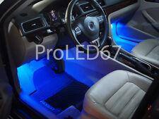 2 Ampoules à LED  BLEU Lumière éclairage SOL /  PIEDS pour AUDI  A4  B5