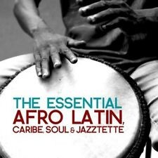Essential Afro Latin Caribe Soul & Jazztette (2013, CD NEUF) CD-R