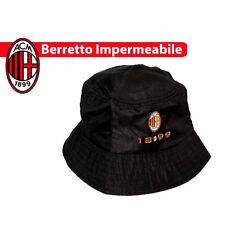 MILAN cappello impermeabile pescatore logo originale  UFFICIALE adulto