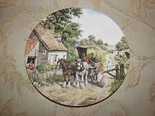 Collectable Royal Doulton ' At The Toll Gate ' Decorative Plate No. 7456 A