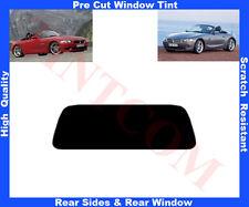 Pellicola Oscurante Vetri Auto Pre-Tagliata BMW Z4 Cabrio 2003-2009 da 5% a 50%