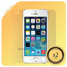 iphone 5S screen protector clear anti scratch 2x Full Body Front Back