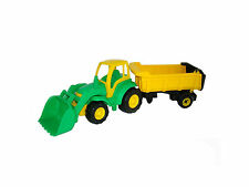 Wader Champion Tractor Frontloader Trailer Ages 3+ Car Truck Jeep Toy Gift Boys