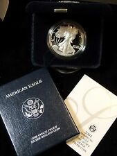 "2004 ""W"" American Silver Eagle Proof Box & COA    East Coast Coin & Collectables"
