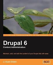Drupal 6 Content Administration-ExLibrary