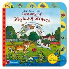 Axel Scheffler Treasury of Rhyming Stories: Rhyming Stories with CD, Scheffler,