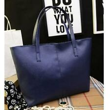 Fashion Ladies Handbag Shoulder Bag Tote Purse Women Leather Messenger Bag Blue