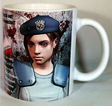 Resident Evil - Jill Valentine Quotes - Coffee MUG CUP - Biohazard - Umbrella 5
