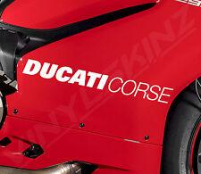 DUCATI Corse Superior Cast Motorbike Stickers Decals 1199R 848 899 Evo 1198 1299