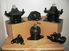 2003-2005 -- SET OF 6 ENGINE & TRANSMISSION MOUNTS FOR HONDA ACCORD (3.0L, A/T).