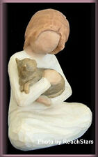 KINDNESS GIRL WITH CAT FIGURINE FROM WILLOW TREE® FREE U.S. SHIPPING