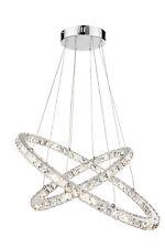 LED Lüster Pendel Hängeleuchte Deckenleuchte Kristall Kronleuchter Deckenlampe