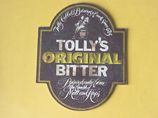 Tolly Cobbold Brewery Tolly's Original Bitter BEER MAT COASTER BREWERIANA Tollys