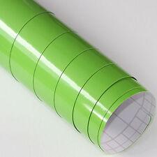 13,31€/m² 3x DIN A4 Selbstklebend Möbel Deko Folie Grün Glanz 21cm x 29,7cm