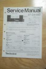 Technics Service Manual for the ST-CA1060 Tuner in the SC-CH737 System