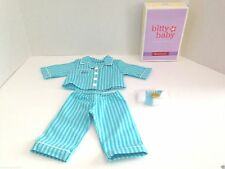 American Girl Bitty Twins Pinstripe Pajamas for Dolls   Brand NEW in Box