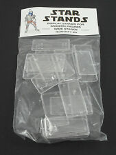 Pack of 50 Star Wars Modern Action Figure Display Stands Wide Stance POTF2