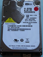 Western Digital WD20NMVW-11W68S0 | HBCVJHBB | 03 MAY 2012 | 2TB disco rigido