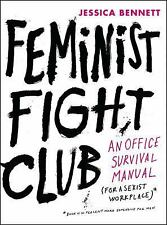 SIGNED Feminist Fight Club by Jessica Bennett 2016, Hardcover new autographed