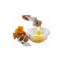 HOT EZ Egg Cracker Handheld Yolk & White Separator Kitchen Gadget Tool