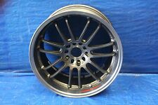 RAYS ENGINEERING RE30 18X9.5 OFFSET 22 5X120 WHEEL RIM #1008 1/2 CORVETTE