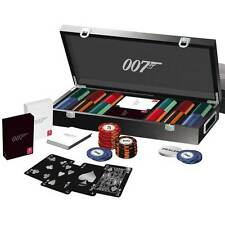 James Bond 007 Luxury 300 Poker Chip Set from Cartamundi Officially Licensed