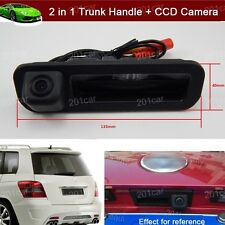 2 in 1 Trunk Handle + CCD Reverse Parking Camera For Ford Focus Sedan 2011-2016