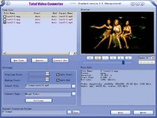 Total Video Converter Software Download - Convert MP3 MP4 MKV FLV AVI 3GP WMV