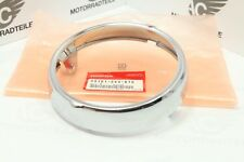 Honda CB CL CT SL XL 100 125 175 Ring Rim Headlight Chrome Genuine New