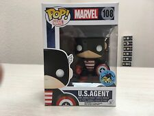 Funko Pop! US AGENT Comikaze Exclusive Marvel #108 Captain America Comic Con