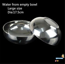 Magic Bowl Water From Empty Bowl Large Size (Dia:17.5cm),magic trick,stage magic