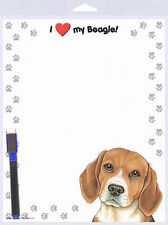 Beagle Dog Memo Board Magnetic Sign 8×10