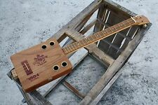 Delta Blues 3 string lessons cigar box guitar for Resonator slide and Dobro