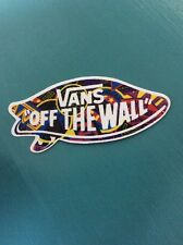 Vans Off The Wall Skateboard Clothing Vinyl Decal Sticker. iPad, Phone, Laptop