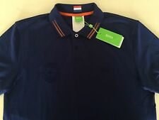 HUGO BOSS GREEN MEN'S SHIRT, PAULE FLAG NETHERLANDS ,100% AUTHENTIC, SZ-L ,NEW