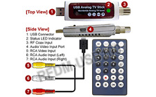 USB 2.0 Universal Cable TV Tuner + RCA A/V To USB DVR Adapter