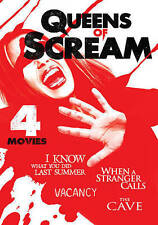 Queens of Scream - 4 Movie Thrill-Fest, Good DVD, Lena Headey, Camilla Belle, Ka