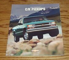 Original 1995 Chevrolet Truck C/K Pickup Sales Brochure 95 Chevy Silverado