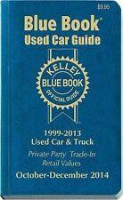 Kelley Blue Book Used Car Guide: Consumer Edition October-December 2014, Kelley